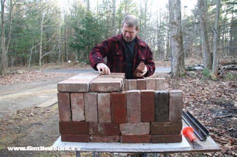 diy clay bricks brick pizza oven and plans rocket stoves
