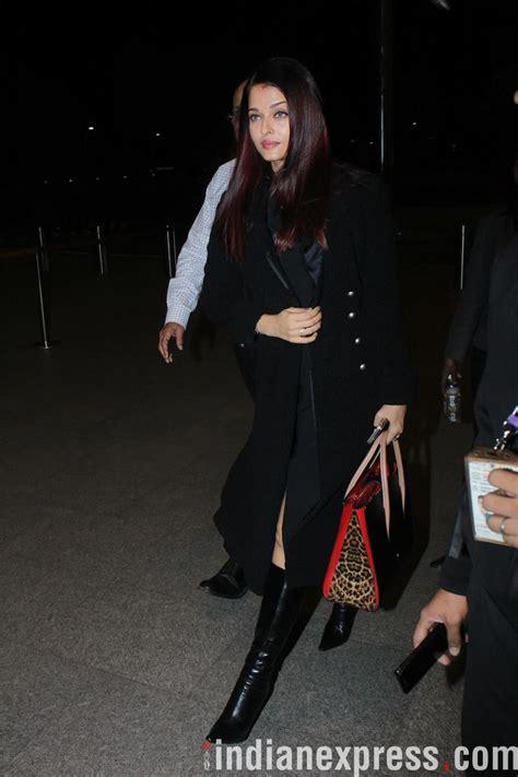 aishwarya rai gym celeb spotting aishwarya rai at the airport d love it