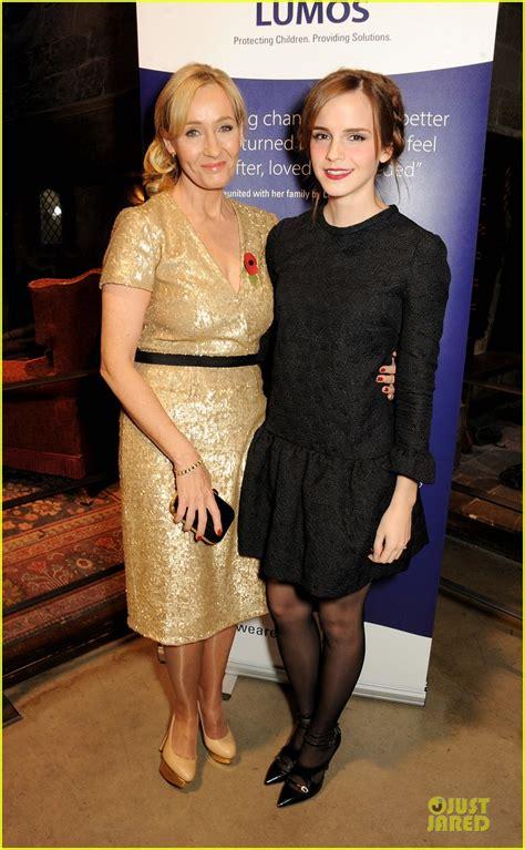 Emma Watson Jk Rowling | harry potter reunion emma watson e j k rowling di nuovo