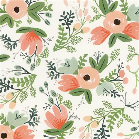 rifle paper company wallpaper rifle paper wildflower print