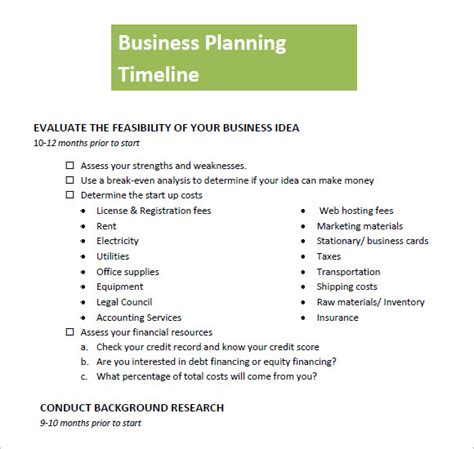 sle timeline template timeline business plan template 28 images 41 best