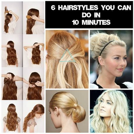 2 minute hairstyles for work hairstyles 10 hairstyles