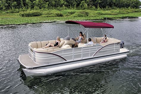 best pontoon boat builders who s who a complete listing of the top builders