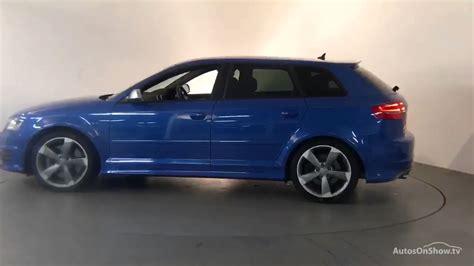 audi s3 sportback blue rv11xfe audi a3 s3 sportback tfsi quattro black edition