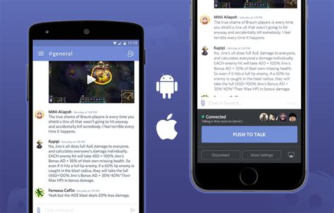 voice mobile app voice chat now available on discord mobile apps discord