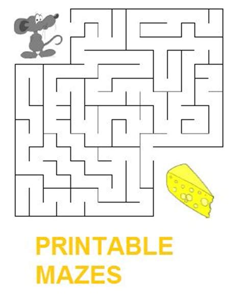 printable educational mazes free printable mazes for kids stimulate child s mental