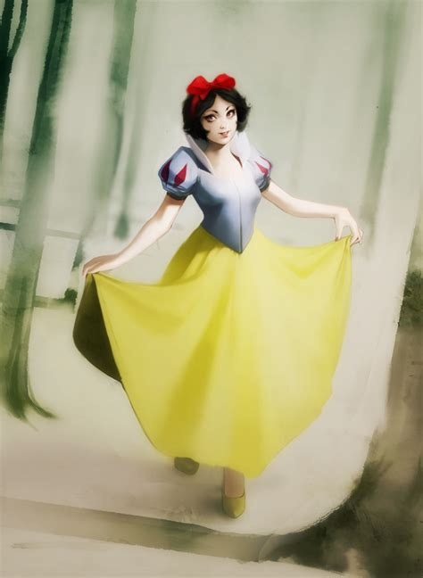 painting snow white snow white snow white fan 32861421 fanpop