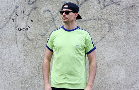Tshirt Persib Adidas vintage adidas original t shirt mens tshirt trefoil jersey oldschool shirt portugal 80s 90s