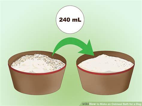 oatmeal shoo for dogs oatmeal bath for pets ftempo