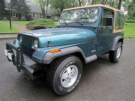 tan jeep wrangler 2 door sell used no reserve 1995 jeep wrangler rio grande sport