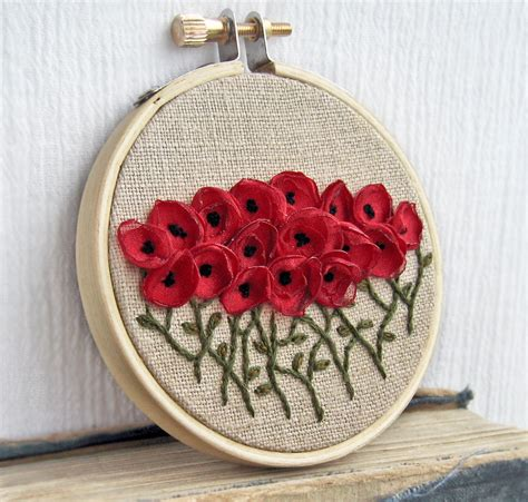 Handmade Embroidery Designs - embroidery wall decoration