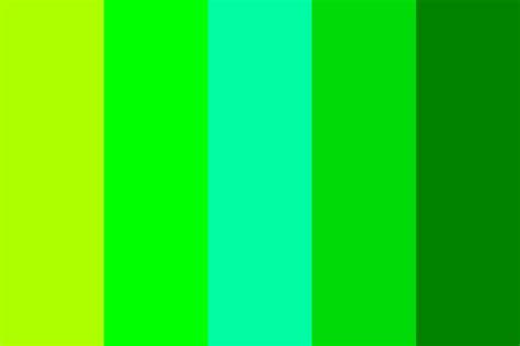 green palette colors green paradise color palette