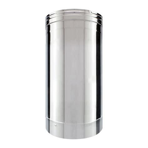 tuyau inox simple paroi 33 cm tubage chemin 233 e net