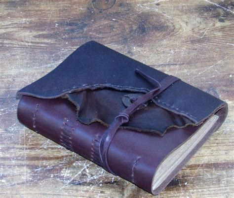 Handmade Leather Bound Books - 136 best images about handmade leather bound journals on