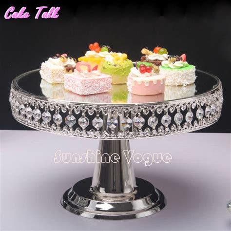 Cake Decorating Stand by Get Cheap Silver Plated Wedding Cake Stands