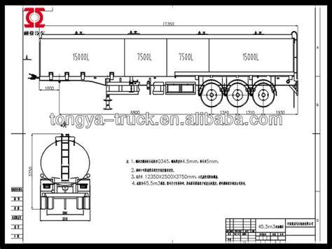 Kunsi Sok 21 Axlats 3 as minyak bahan bakar tanker semitrailer dengan harga