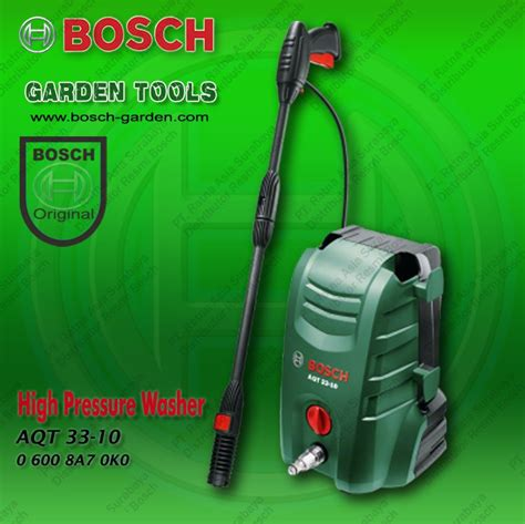 Mesin Semprot Untuk Cuci Motor jual promo alat cuci mobil mesin semprot air bosch aqt 33