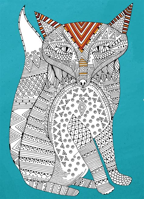 pattern art therapy fox pattern free download hobbycraft blog