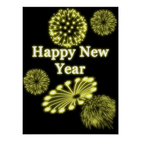 new year poster images happy new year poster zazzle