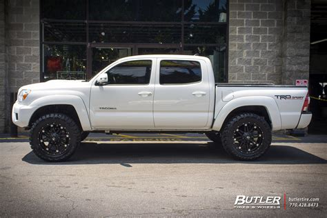 Toyota Tacoma Tires And Rims Toyota Tacoma With 20in Fuel Hostage Wheels Exclusively