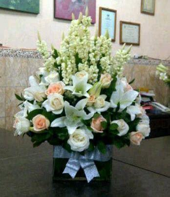 Bunga Meja Bulat jual bunga meja 3 kinari