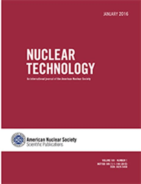 nuclear design journal journals nuclear science and engineering research