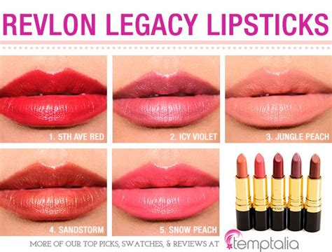 Lipstik Revlon Satin Smooth Lipcolor revlon legacy collection lustrous lipsticks reviews