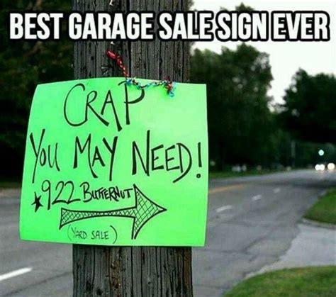 Garage Sales Friday Friday Meme Just