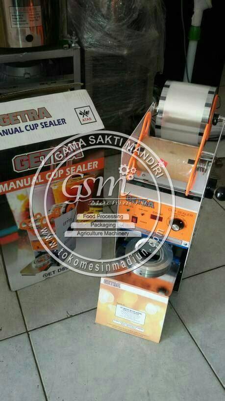 Alat Teh Poci mesin cup sealer manual getra toko mesin gama sakti