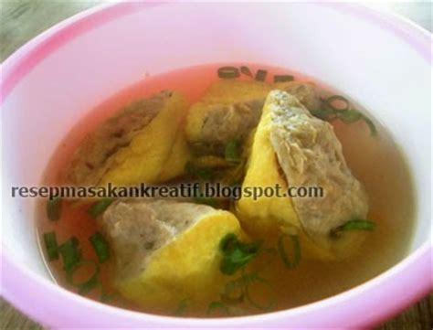you tube cara membuat kuah bakso sederhana resep tahu bakso goreng dan kuah ikan tongkol aneka