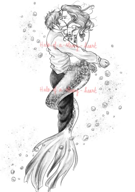 mermaid merman art