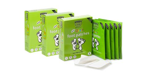 Happy Detox Patches Australia by 30 Happy Detox Foot Patches
