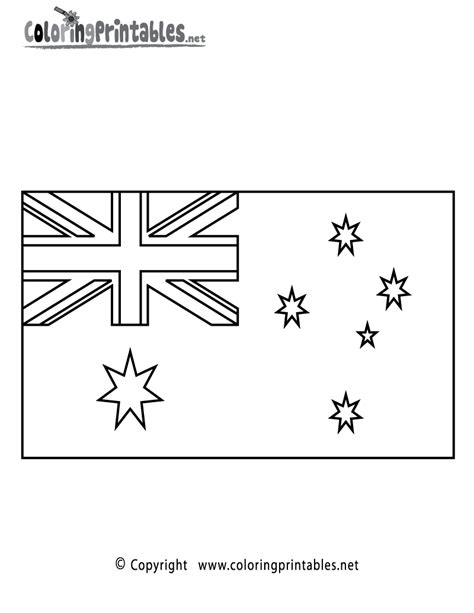 australian flag template to colour pics for gt australian flag coloring page