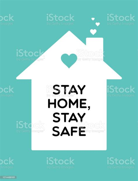 stay home stay safe vector coronavirus content white house