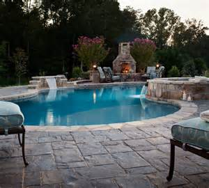 Backyard Pools And Spas Pools Spas Traditional Tub And Pool Supplies By Blue Max Materials