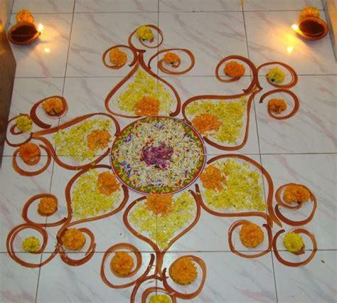 design flower rangoli diwali diwali rangoli designs with flowers 2017 ideas