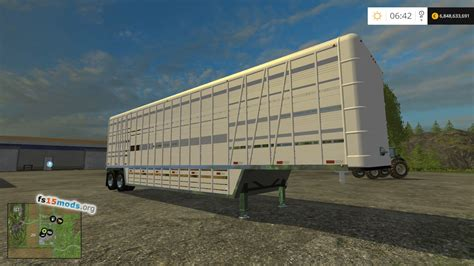 maps to the trailer american cattle trailer fs15 mods
