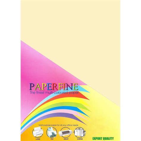 Kertas 110 X 30 Kuning Emas paperfine kertas hvs warna a4 500