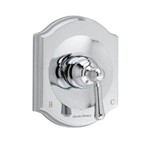 Bathroom Shower Valve American Standard Portsmouth 1 Handle Bath Shower Valve Only Trim Kit In Polished Chrome With