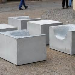 Cement Patio Furniture by Concrete Furniture For The Garden Komplot Design For Nola