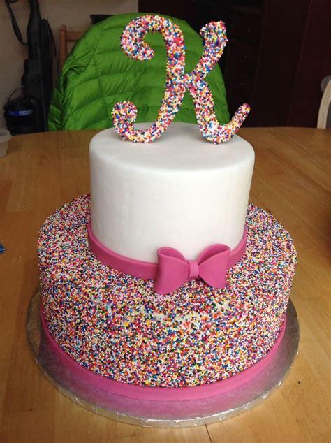 ideas  beautiful birthday cakes  pinterest pink cakes birthday cake