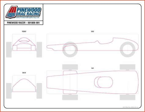 Free Pinewood Derby Templates Printable by 25 Pinewood Derby Templates For Cars Design Printable