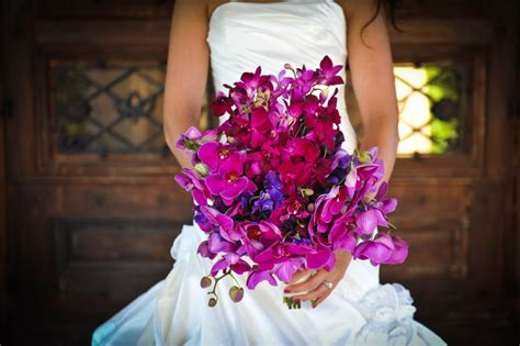Bright Wedding Flower Picture by Bright Purple Flowers Wedding Www Imgkid The Image