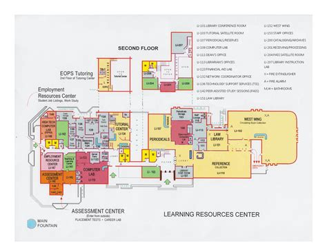 fresno city college map library fresno city college