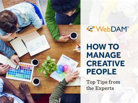 Getting Creative With Experts Advice by How To Manage Creative Top Tips From The Experts
