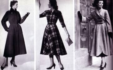 Women's Clothing   1940s   Clothing   Dating   Landscape