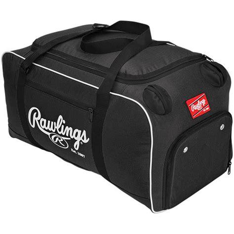 rawlings covert baseball softball equipment bat bag black