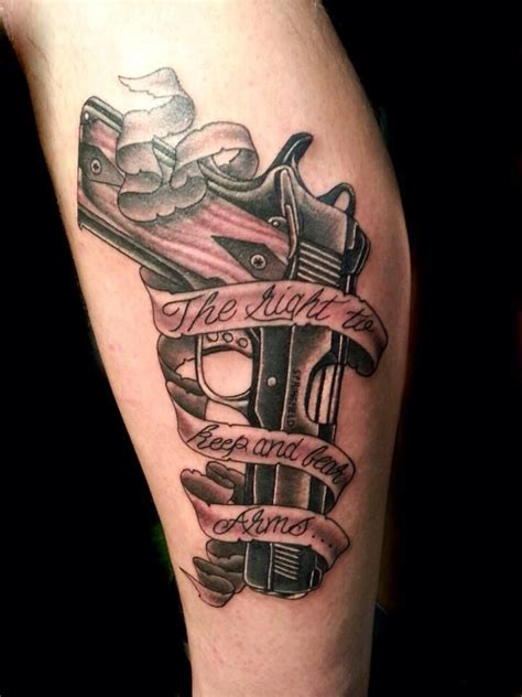 gun tattoos for men 25 best ideas about pistol gun tattoos on gun