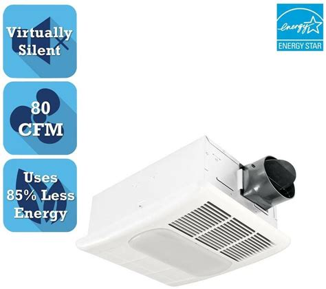bathroom ceiling exhaust bath fan with light and heater