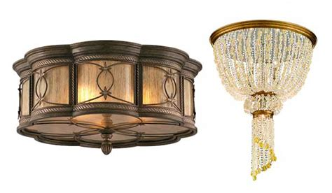 how to choose the correct ceiling light fixture flush or